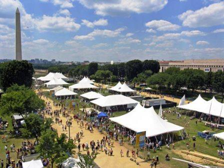 folklife festival on the mall