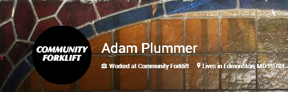 Or maybe you know us by our G+ moniker, Adam Plummer (a former slave who founded our town of Edmonston).