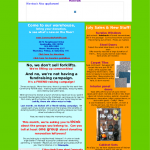 July Newsletter 2009