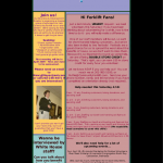 Mid-April Newsletter 2009