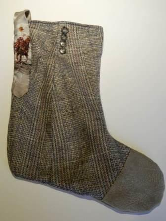 Cowboy Christmas Stocking
