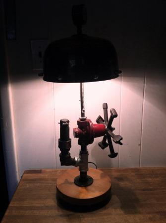 steampunk lamp for pressrelease