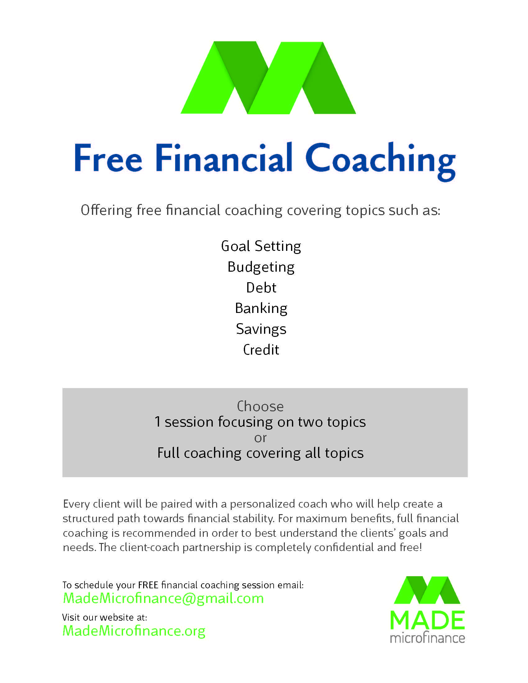 how to become a financial coach