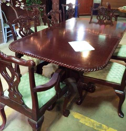 2014 - 05 - 09 Chippendale table and chairs cropped
