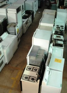 ALCO Appliance aisle from above