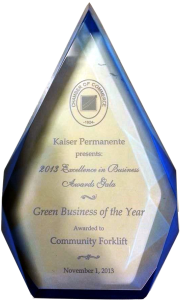 Green Business of the Year 2013