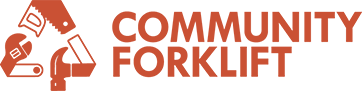 logo for Community Forklift