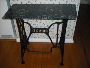Singer Table