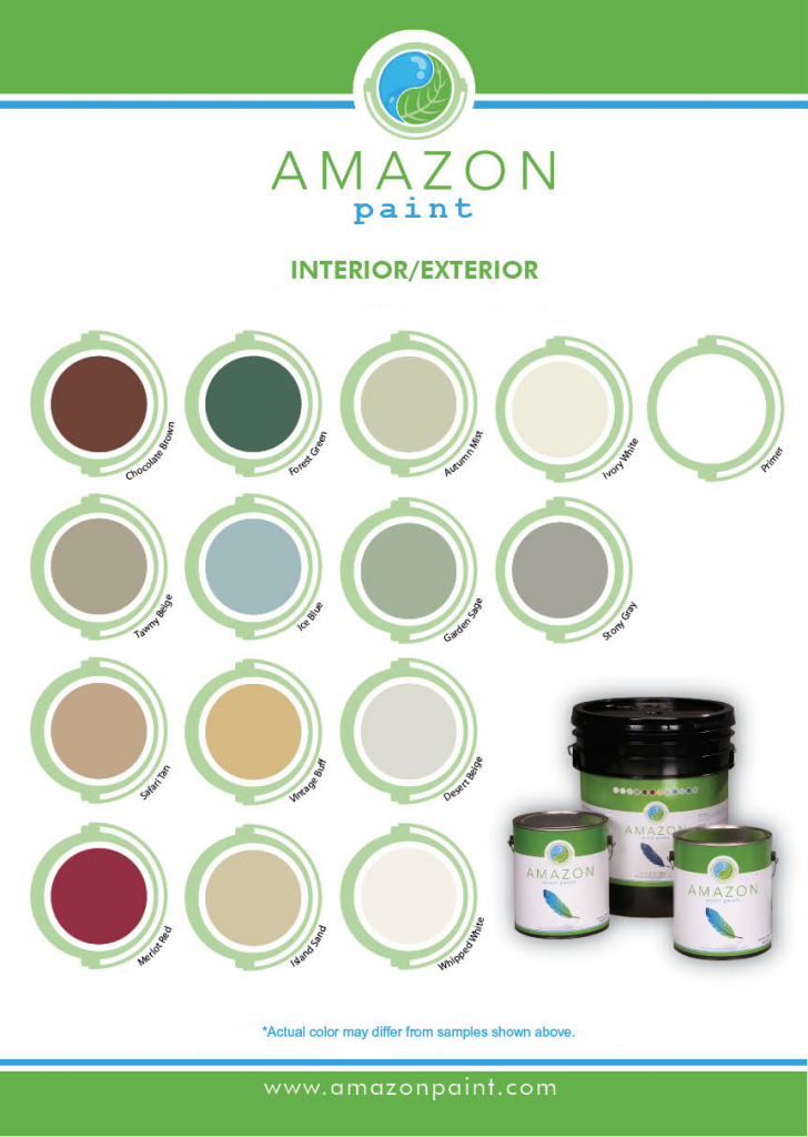 Amazon Colors Swatch