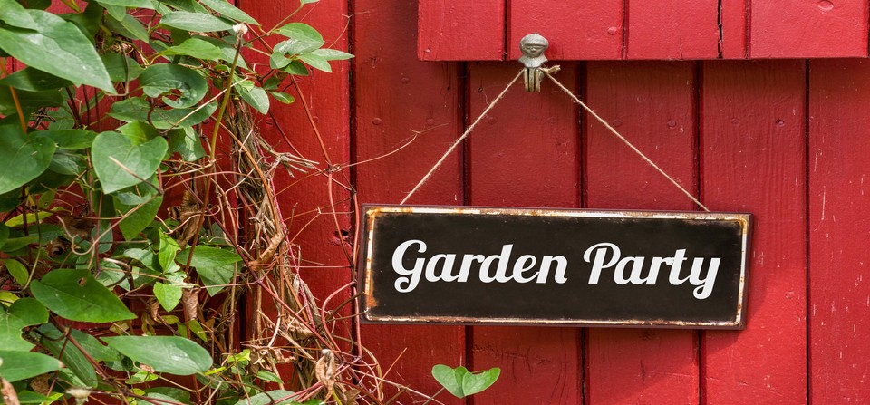 Garden Party 2015! It's (nearly) ON!