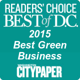 Readers' Choice Best of D.C. 2015 Best Green Business by Washington City Paper