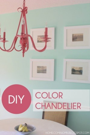 diy color chandelier homecomingmn dot blogspot dot com