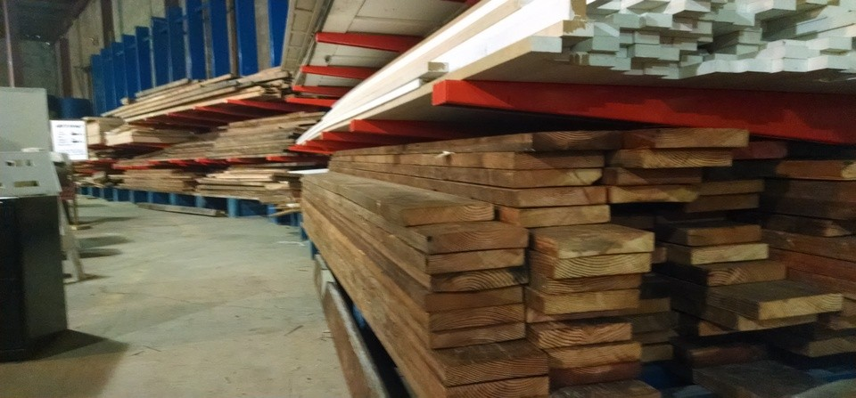Just Arrived ~ BIG Load of Reclaimed Lumber!