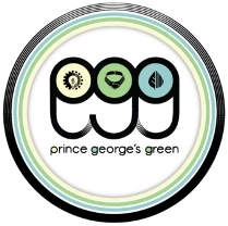 Prince Georges Green compressed logo