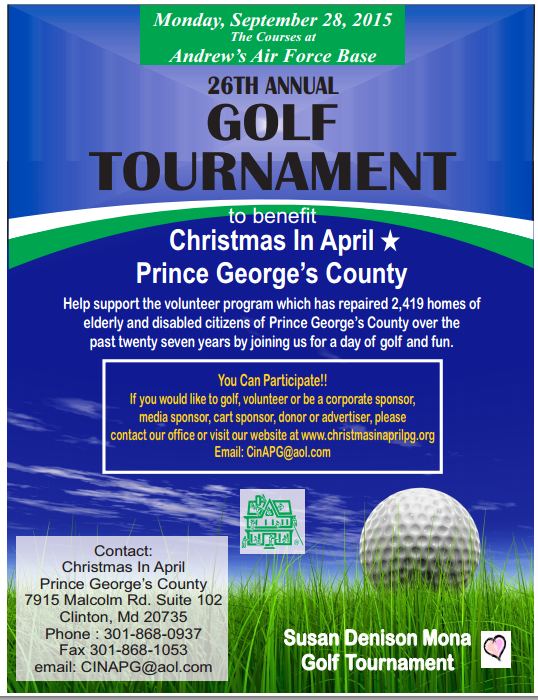 CINAPG golf tournament
