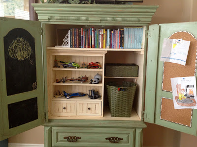 AA playroom storage