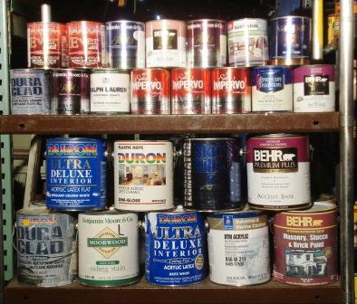 paint compressed gallons and quarts