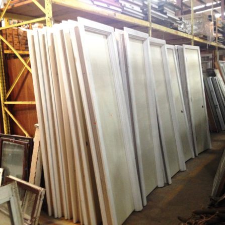 2016 - 06 - 24 Primed doors in frames