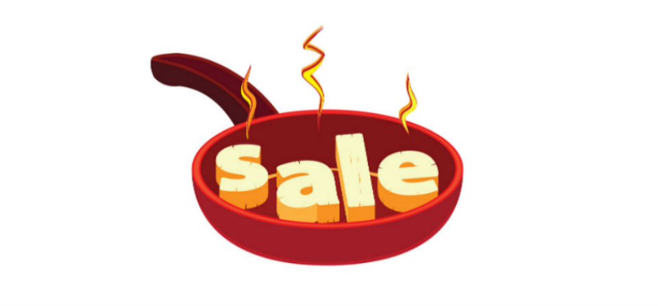 Sizzling Hot Weekend Flash Sale