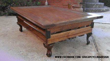 Beautiful coffee table from Soul Upcycle Design