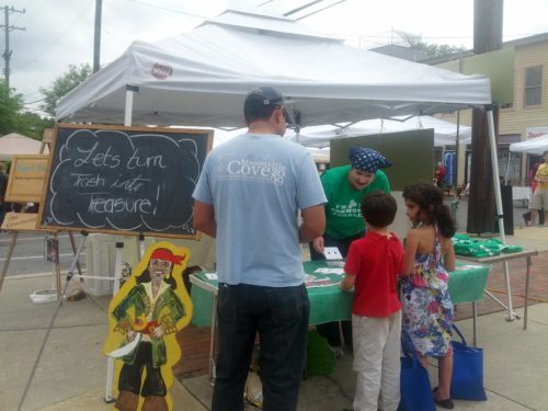 2012 - 5 Riverdale Arts Festival booth