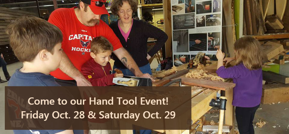 Hand Tool Event – October 28 & 29