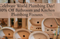 Weekend Flash Sale for World Plumbing Day!