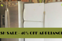Midweek Flash Sale! 40% Off Appliances