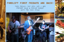 Come hang out THIS FRIDAY evening!  Mystery sale, craft beer, live music & more…