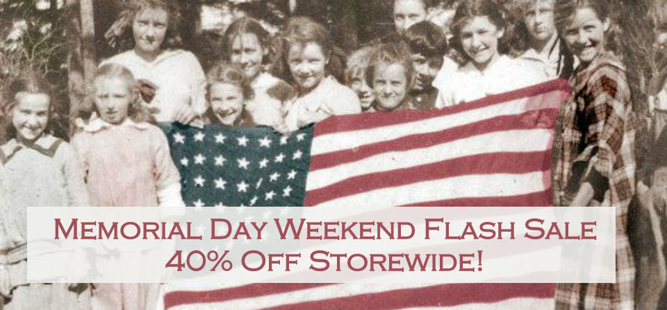 Open on Memorial Day – with a Storewide Sale!