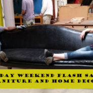 Weekend Flash Sale: 25% off furniture and decor