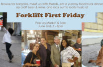Join us June 2nd for Forklift First Friday!
