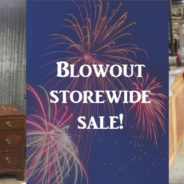 Blowout Storewide Sale!  Plus, do some good – and get ready to party