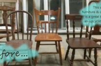 Before & After:  cheap chair projects