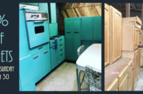 40% off Cabinets This Weekend