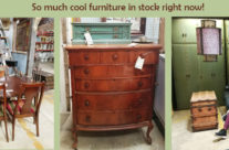 So much new stuff at the warehouse – and furniture is 40% off!