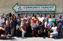 Community Forklift attracts visitors from all over the globe