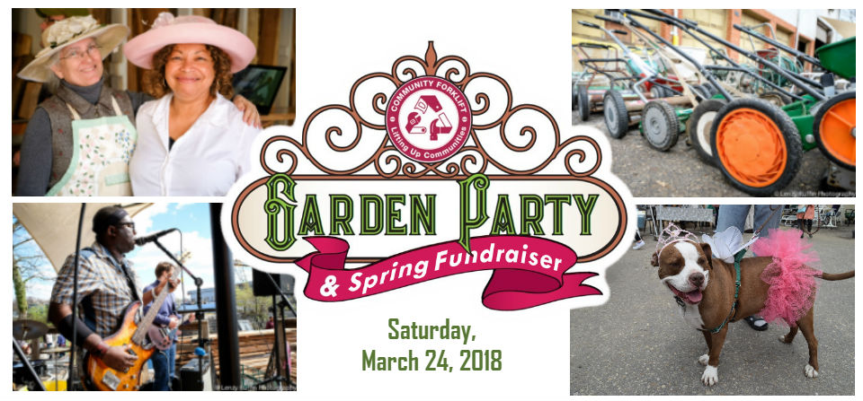 Save the Date for our Annual Spring Garden Party!