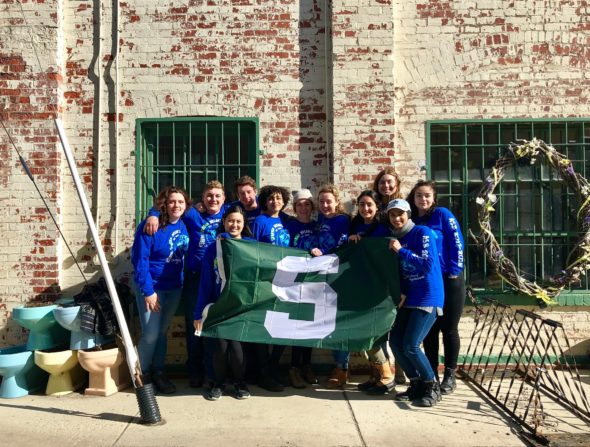 Msu Students Help To Lift The Community Community Forklift