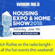 Catch Ruthie on the radio tonight!  Plus, Home Shows and other weekend events