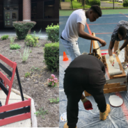 Middle schoolers encourage new friendships with salvaged materials