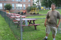 Scout uses Forklift materials to bring a playground back to life