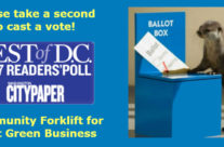 Just a few days left to vote!  Please help us win Best Green Business of 2017
