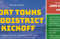 This Monday, join us at the Port Towns EcoDistrict Kickoff!