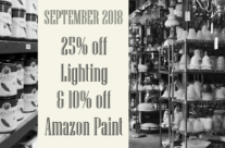 September 2018 Monthly Sale