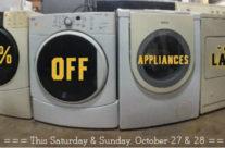 Weekend Sale:  Appliances and Lamps