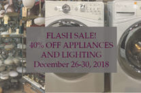Flash Sale! Lighting and Appliances