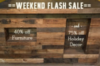 Save big on furniture – and holiday clearance