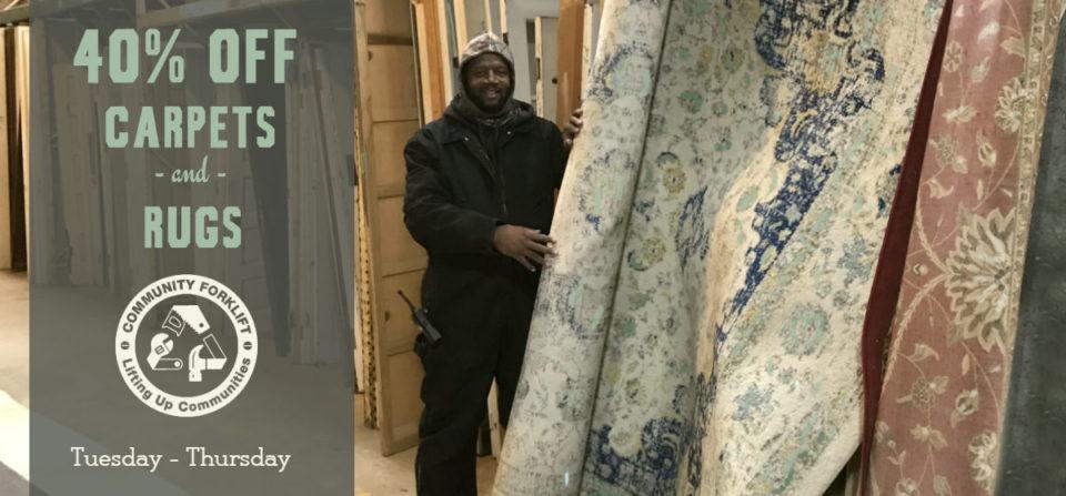 Midweek Flash Sale:  Carpets & Rugs