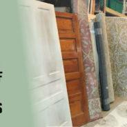 This weekend, Carpet & Doors are Half Off!